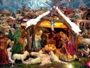 Epiphany Three Kings Visiting Jesus