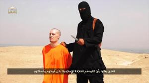 Cowardly terrorists prepare to murder journalist James Foley